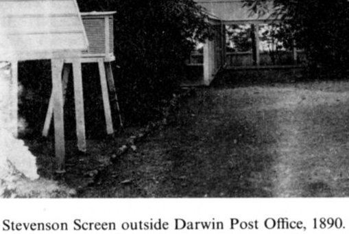 1890 in Darwin Stevenson screen at Post Office